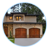 Wood Garage Door Pleasanton
